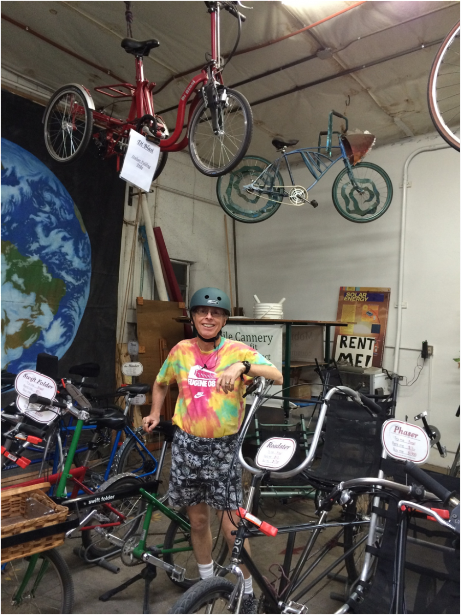 Custom bicycle shop in Eugene, OR