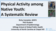 Physical Activity among Native Youth: A Systematic Review