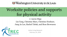 Worksite Policies and Supports for Physical Activity