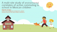 A Multi-Site Study of Environmental Correlates of Active Commuting to School in Mexican Children