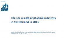 The Social Cost of Physical Inactivity in Switzerland in 2011