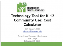Technology Tools for K-12 Community Use: Cost Calculator