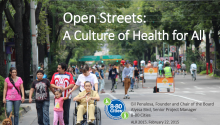 Open Streets: A Culture of Health for All