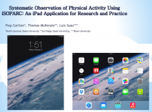 Systematic Observation of Physical Activity using iSOPARC: An iPad Application for Research and Practice